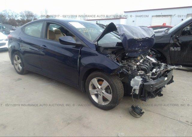 Inventory #591582495 2013 Hyundai ELANTRA