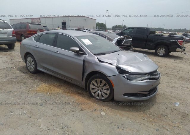 Inventory #291891210 2016 Chrysler 200
