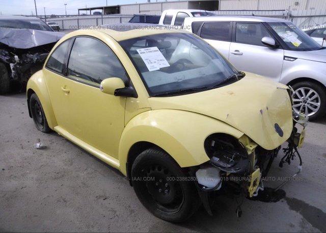 Inventory #637236127 2007 Volkswagen NEW BEETLE