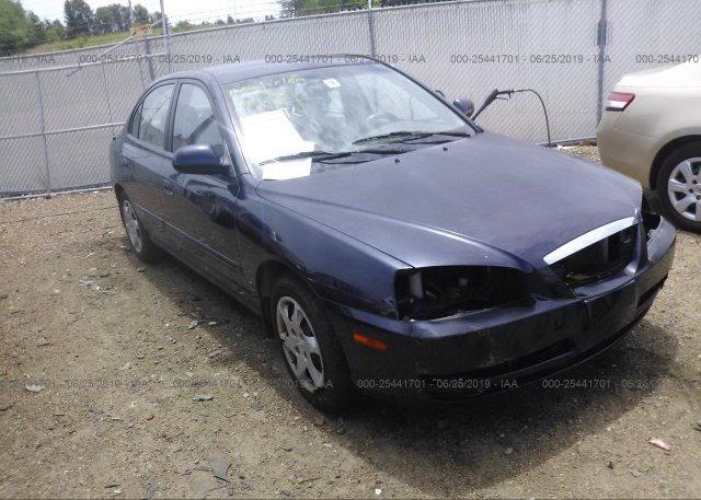 Inventory #563087095 2006 Hyundai ELANTRA
