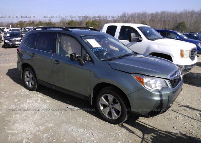 Inventory #915853720 2016 Subaru FORESTER