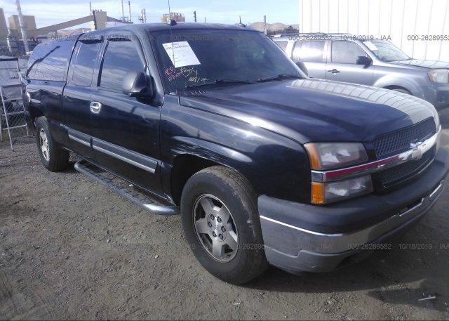 Inventory #528732783 2005 Chevrolet SILVERADO