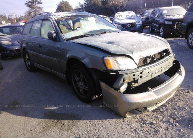 Inventory #889115711 2003 Subaru LEGACY