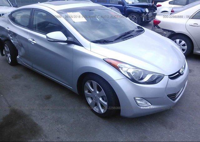 Inventory #771624458 2013 Hyundai ELANTRA