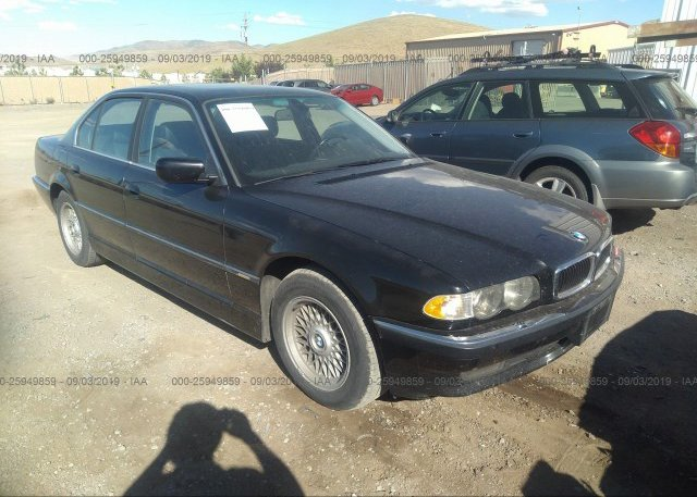 Inventory #251939733 2001 BMW 740