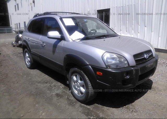 Inventory #726146583 2005 Hyundai TUCSON