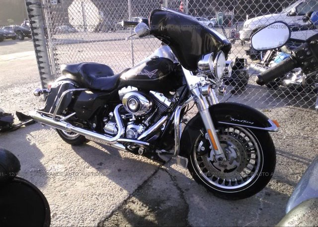 1hd1fb416ab612502 Salvage Black Harley Davidson Flhr At Columbia