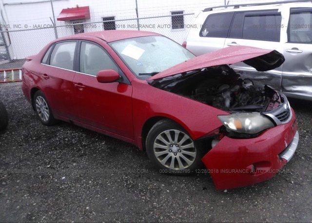 Inventory #509235238 2008 Subaru IMPREZA