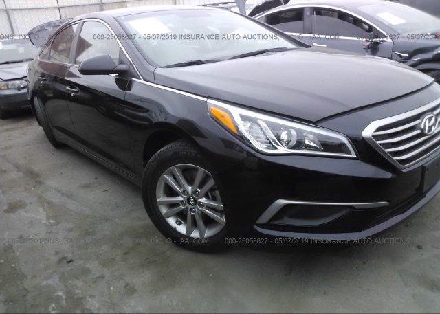 Inventory #854042852 2017 Hyundai SONATA