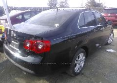 2007 Volkswagen JETTA - 3VWEF71K27M169356 rear view