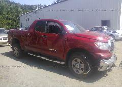 2012 Toyota TUNDRA - 5TFUM5F15CX030691 Left View