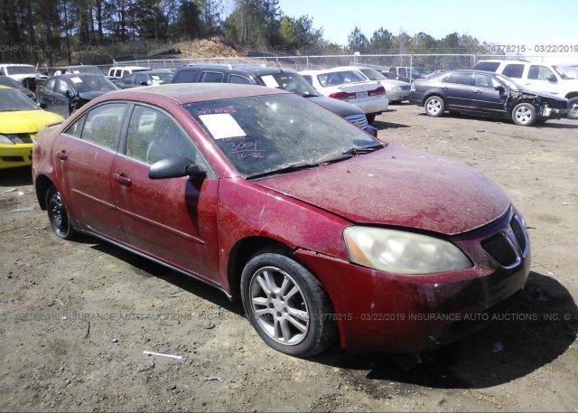 Inventory #460117931 2006 Pontiac G6