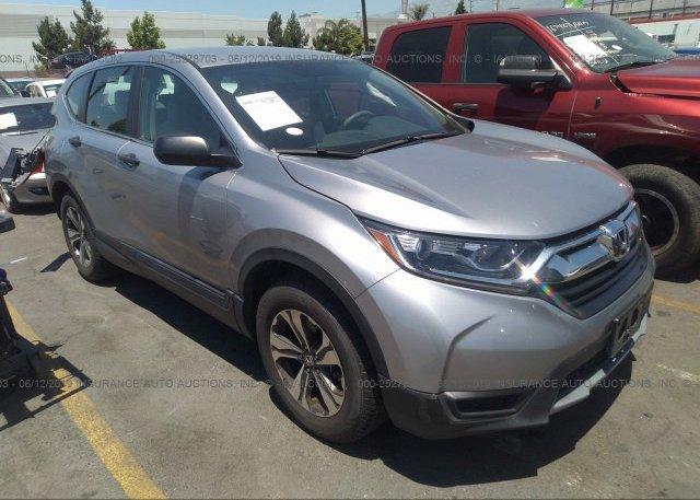 Inventory #676867101 2017 Honda CR-V