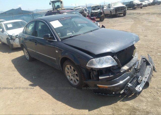 Inventory #518968055 2003 Volkswagen PASSAT