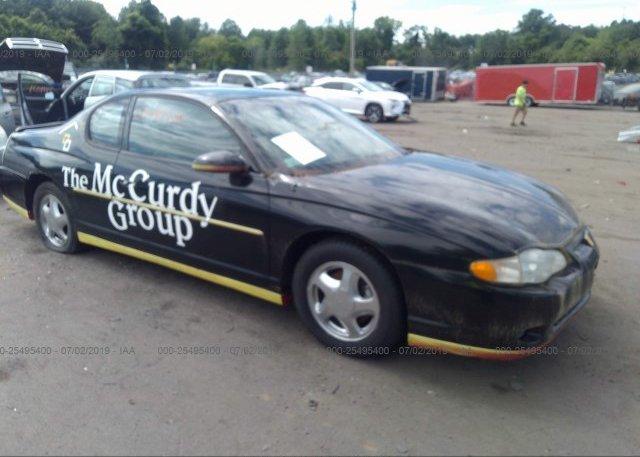 Inventory #168353436 2003 Chevrolet MONTE CARLO