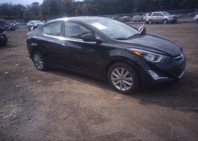 Inventory #215166349 2014 Hyundai ELANTRA
