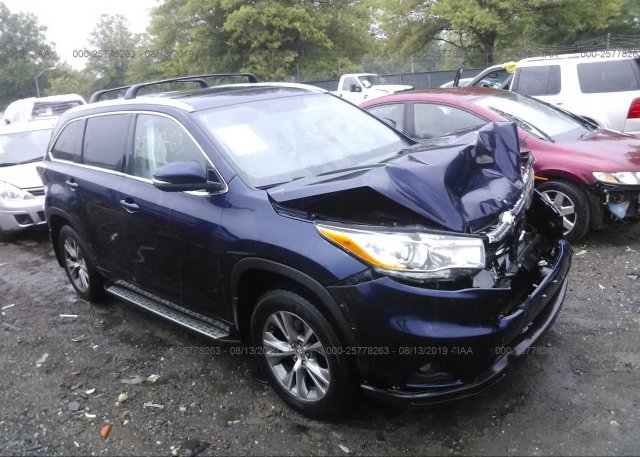 Inventory #525547316 2014 Toyota HIGHLANDER