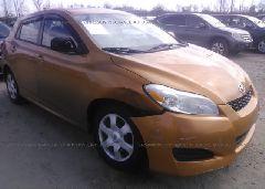 2009 Toyota COROLLA MATRIX