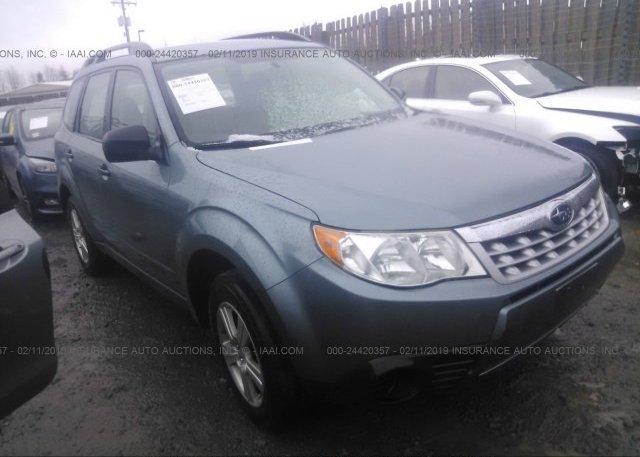 Inventory #323030374 2012 Subaru FORESTER
