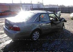 2003 Toyota AVALON - 4T1BF28B63U312387 rear view