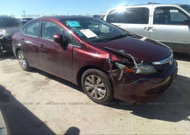 Inventory #580616730 2012 Honda CIVIC