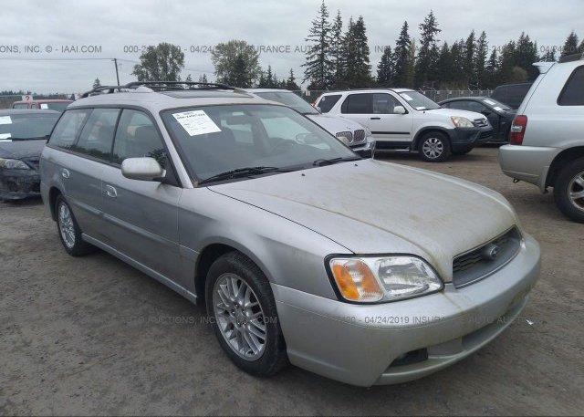 Inventory #756840400 2003 Subaru LEGACY