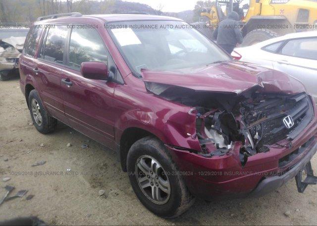 Inventory #991468363 2005 Honda PILOT