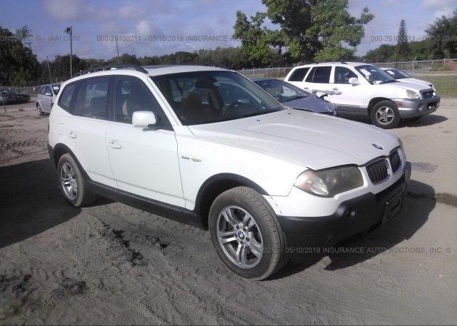 Inventory #929482917 2005 BMW X3