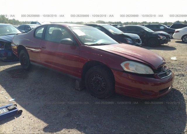 Inventory #298181573 2007 Chevrolet MONTE CARLO
