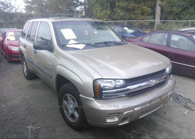 Inventory #623277413 2004 Chevrolet Trailblazer