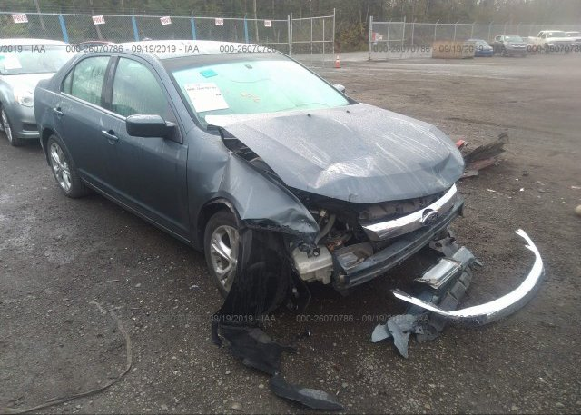 Inventory #250172997 2012 FORD FUSION