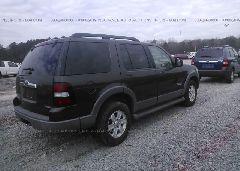 2006 FORD EXPLORER - 1FMEU73E66UA12225 rear view