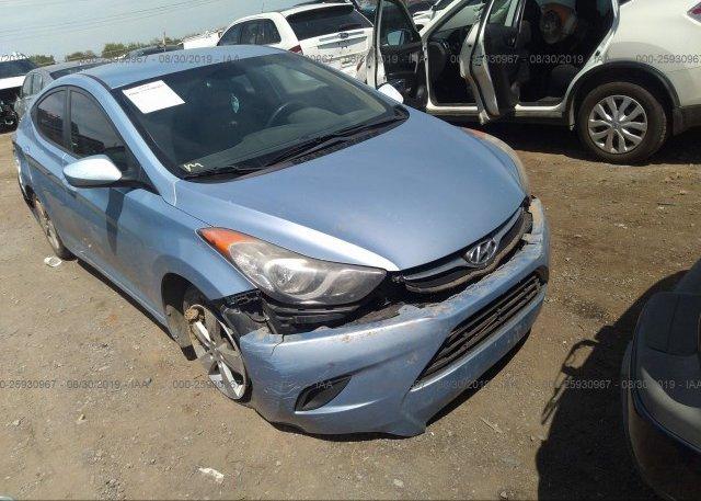 Inventory #524991317 2011 Hyundai ELANTRA
