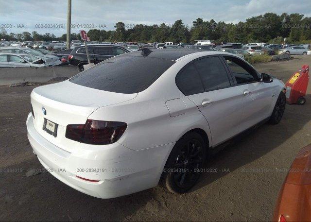 цена в сша 2016 BMW 5 SERIES WBA5A7C54GG147083