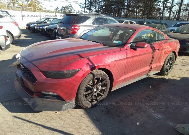 из сша 2016 FORD MUSTANG 1FA6P8AM3G5204607