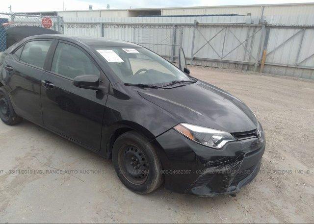 Inventory #826292522 2014 Toyota COROLLA