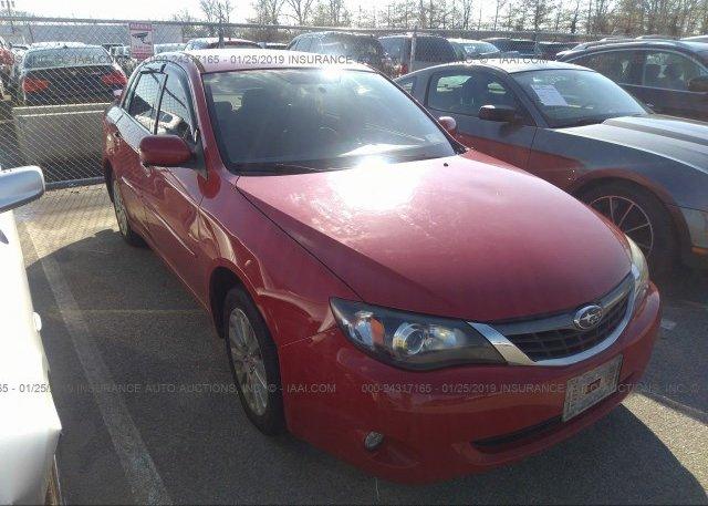 Inventory #769513728 2008 Subaru IMPREZA
