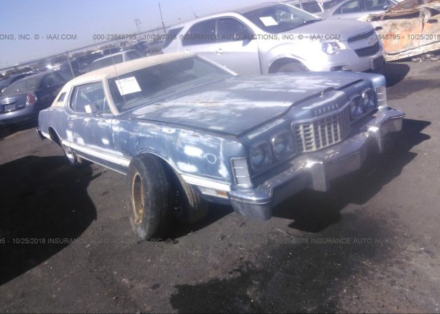 Inventory #499810202 1976 FORD THUNDERBIRD