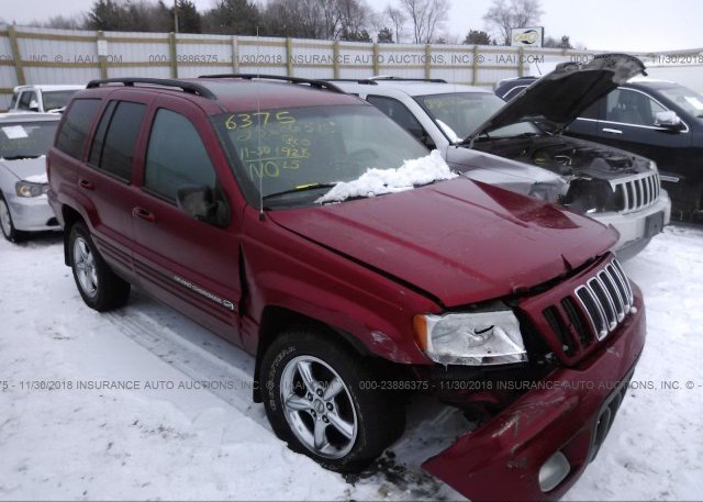 Inventory #900534118 2002 JEEP GRAND CHEROKEE
