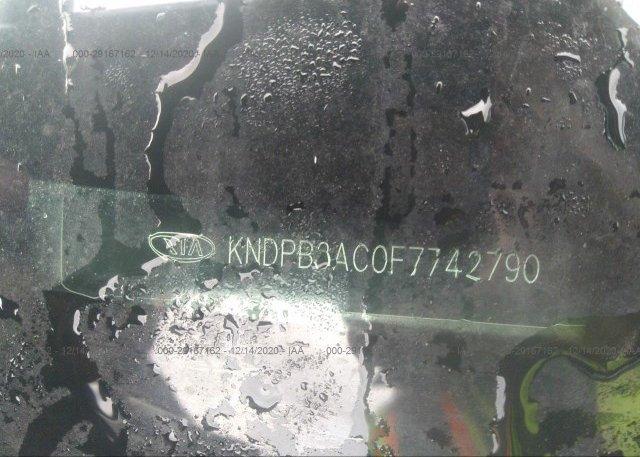 KNDPB3AC0F7742790 2015 KIA SPORTAGE