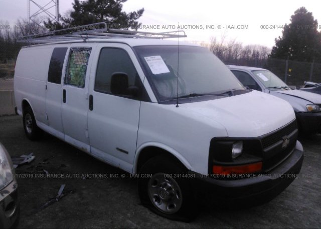 Inventory #271637904 2004 CHEVROLET EXPRESS G3500