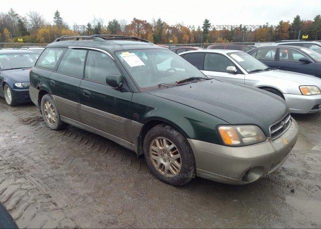 Inventory #485069794 2002 Subaru LEGACY