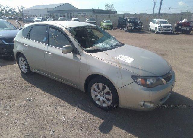 Inventory #480219331 2009 Subaru IMPREZA