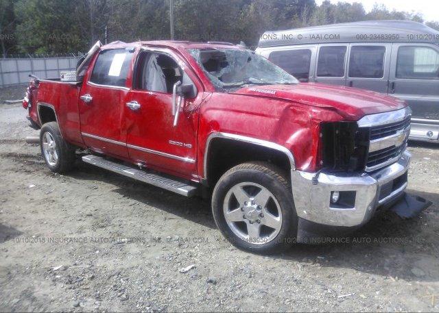 Inventory #556966887 2015 Chevrolet SILVERADO