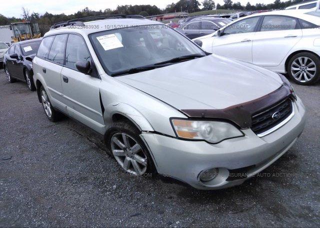Inventory #536912033 2006 Subaru LEGACY