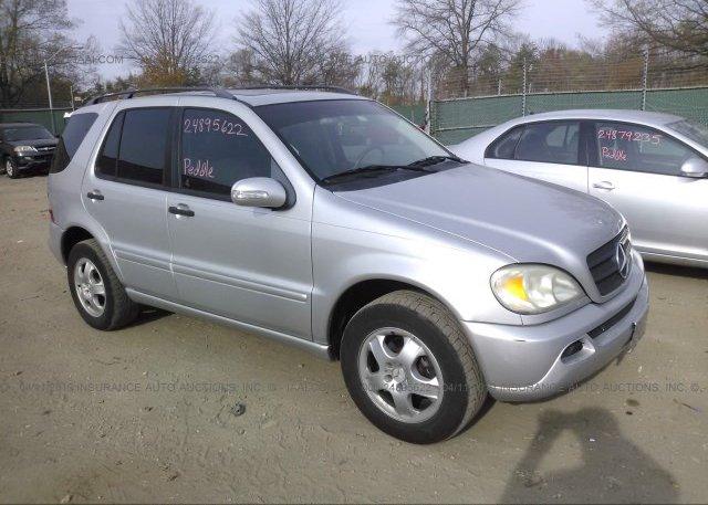 Inventory #589189123 2005 Mercedes-benz ML