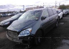 2007 Honda ODYSSEY - 5FNRL38847B093675 Right View