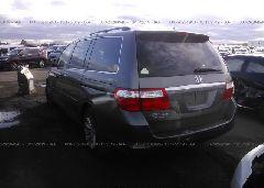 2007 Honda ODYSSEY - 5FNRL38847B093675 [Angle] View