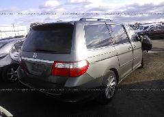 2007 Honda ODYSSEY - 5FNRL38847B093675 rear view