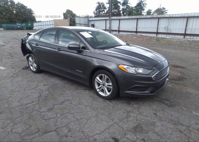 Inventory #106838252 2018 FORD FUSION